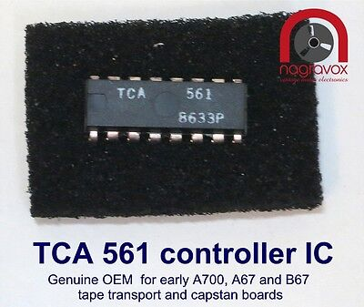 TCA 561 control IC for Revox  A700 Studer A67 B67
