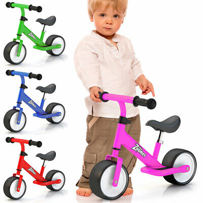 New Childrens Kids Toddlers Red Balance Bike Bikes Bicycle Little Zoomer