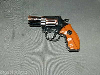 No Sight .357 Magnum Gun Revolver Shaped Jet Torch Lighter 357 Magnom USA Stock