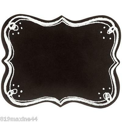*NEW*Black Ornate Chalkboard with Dotted Corners, Shabby Chic Decor, Kitchen