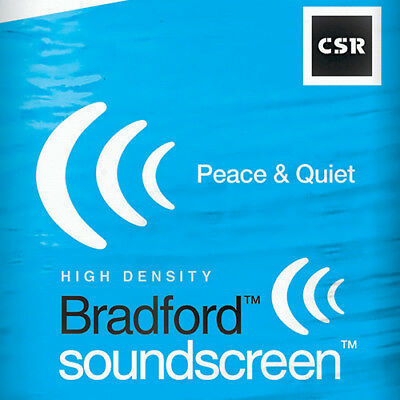 SoundScreen Acoustic Batts R2.0 - 580mm x 1160mm - 70mm thick - 6.1m2/coverag...