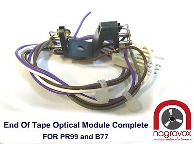 END OF TAPE optical sensor MODULE complete for  Revox  B77 and PR99