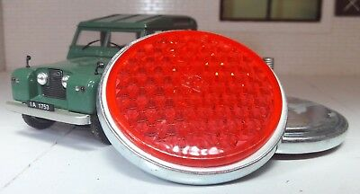 Quality OEM Rear Tub Red Round Reflectors x2 551595 Land Rover Series 1 2 2a 3