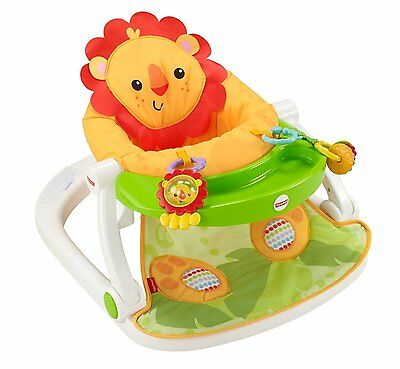 Fisher Price Sit Me Up FLOOR SEAT, Upright PORTABLE BABY FLOOR SEAT, CBV48