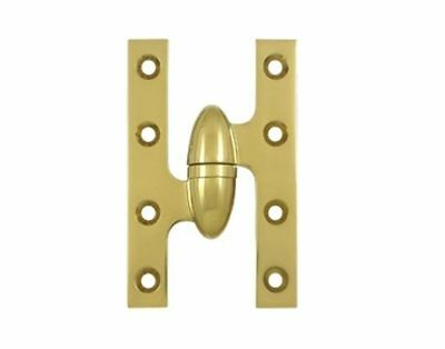 "Hinge Olive Knuckle Type 5"" X 3-1/4"" Square Corner Leaves  11 Finishes FPL Door"