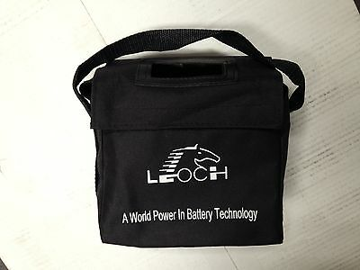 Golf battery carry bag for 20 and 22ah batteries