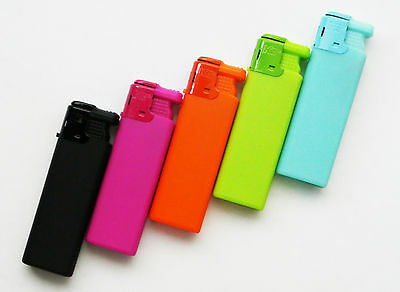 Ktwo Soft Touch Jet Flame Neon Windproof Lighter Torch Refillable Cigar Pipe
