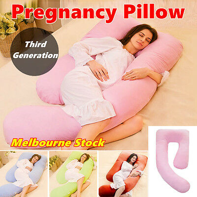Maternity Pregnancy Pillow Nursing Body Support Feeding U Unequal Legs New Style