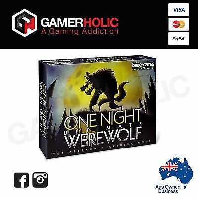 One Night Ultimate Werewolf Board Game - Brand New - Sealed