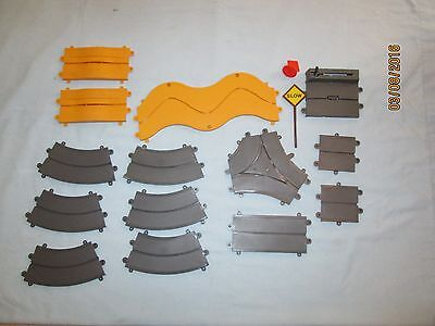 Vintage Ideal Motorific 1965 Slot Car Straight, Curved Track & Additional Pieces