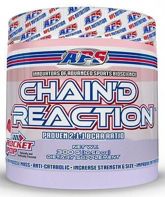 APS Nutrition Chain'd reaction 300 grams BCAA   EXP 10/2020 FREE SHIPPING