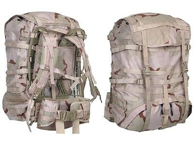 US Genuine Rucksack NEW MOLLE 2 Light Desert Backpack Large Assault Field Pack