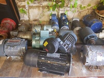 Three Phase Electric Motor Grundfos  Joblot Variety Motors Factory Clearance