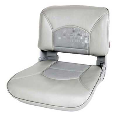 Tempress 45626 Profile Guide Series Boat Seat Gray Marine with Cushion