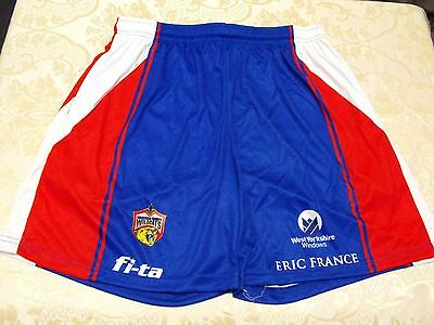 Wakefield Trinity Wildcats Training Shorts  FI-TA International Rugby League