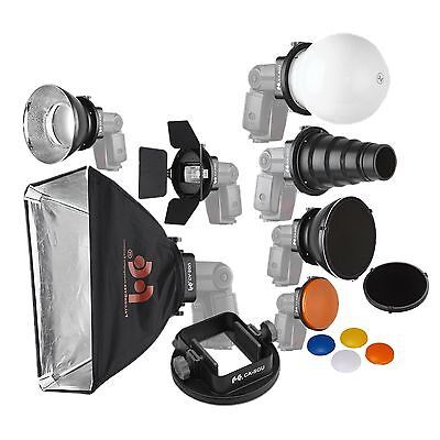 SGA-K9 Speedlight Flash Modifiers K9 Kit For Canon Nikon YongNuo Flash Speedlght