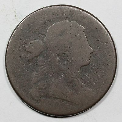 1801 S-216 Draped Bust Large Cent Coin 1c