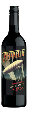 6 X Zeppelin Big Bertha Barossa Valley Shiraz ( no delivery to NT and WA)