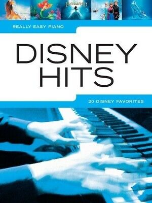 Really Easy - Disney Hits Piano Book *NEW* Sheet Music, 20 Favourites