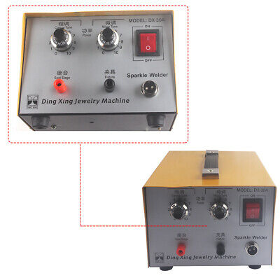 200W Jewelry Gold Silver Platinum Welding Machine 110V Pulse Sparkle Spot Welder