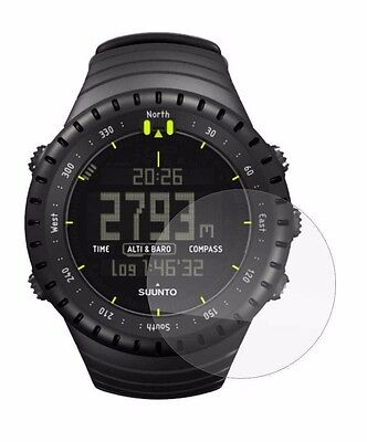 Set of 4 Screen Protector Full cover display For Suunto Core All Black