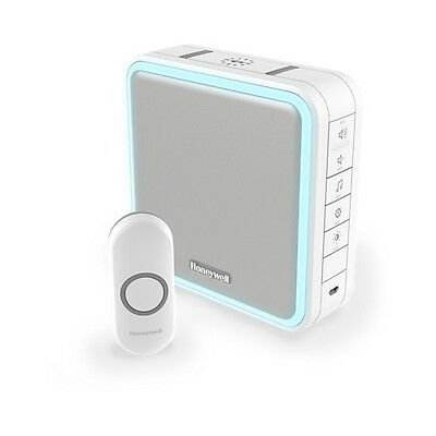 Honeywell DC915N Series 9 Portable Doorbell & Range Extender with Halo Light