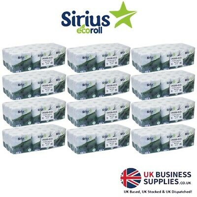 Ecoroll 100% Recycled Eco Toilet Rolls 2ply 320 Sheet (From Just 25p/Roll!)