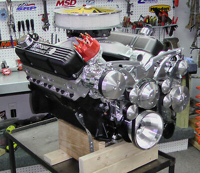 CHRYSLER 440 500CI Stroker Crate Engine With 525HP Dyno Tested Custom Built