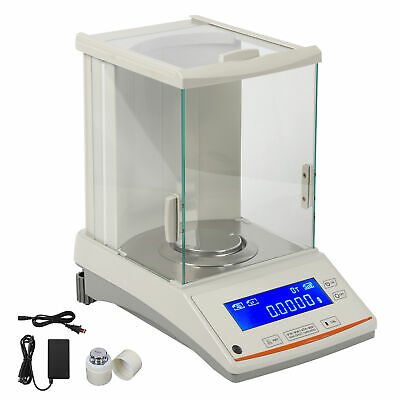 200 / 0.0001g 0.1mg Digital Precision Scale Lab Analytical Balance Top Quality