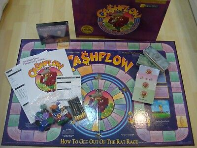 Brand New Classic Cashflow 101 Board Game Rich Dad Poor Dad Robert Kiyosaki
