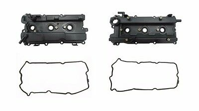 Left & Right Engine Valve Cover, Gasket & Seals For 04-06 Maxima, Altima V6 3.5L