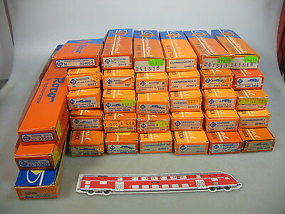 AK875-2# 33x Roco N Gauge Empty boxes for Points/Track etc.: 02465+2401+02417