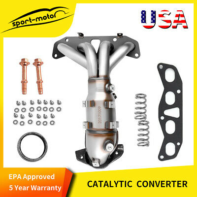 Exhaust Manifold w/ Catalytic Converter 2.5L for 02-06 Nissan Altima Sentra EPA