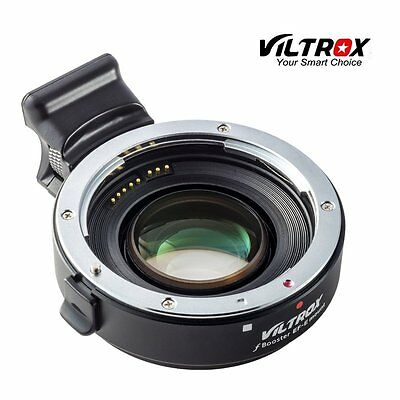 Auto Focus Speed Booster Adapter Canon EF EOS Lens to Sony NEX E as Metabones