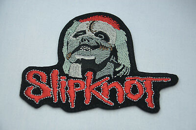 SLIPKNOT 11cm  Embroidered Sew Iron On Cloth Patch Badge APPLIQUE