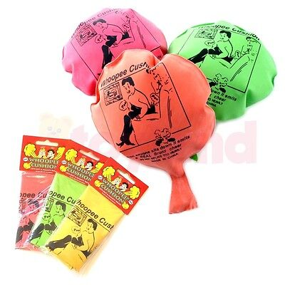 2 6 12 24 Whoopee Cushion Fart Toy Boys Girl Gift Favours Loot Party Bag Fillers
