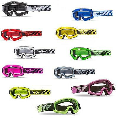 Fly Racing Focus Adult Goggles W/Clear Lens For Offroad ATV MX