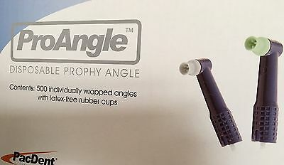 Dental DISPOSABLE PROPHY ANGLES LATEX FREE 144 pcs/box TPC SOFT Cup purple