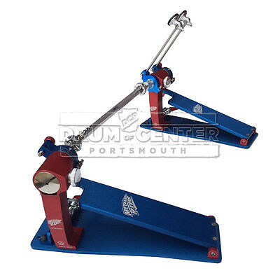 Trick Pro 1V Bigfoot Double Bass Drum Pedal Metal Patriot - P1V2BF-MP