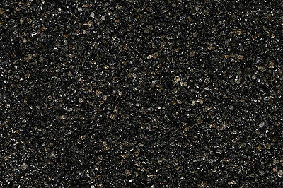20kg BLACK GLOSSY DECORATIVE GRAVEL STONES 1-3mm LANDSCAPE GARDEN PATH CHIPPINGS