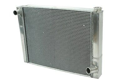 "Dirt Oval All Aluminum Racing Radiator 19""x26"" Chevy 2 Row Triple Pass IMCA"