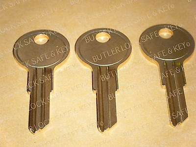 Bauer T-Handle Truck Topper 3 Replacement Keys PreCut to Your Key Code K125 K173
