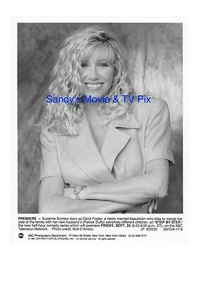 SUZANNE SOMERS Terrific Original TV Photo STEP BY STEP