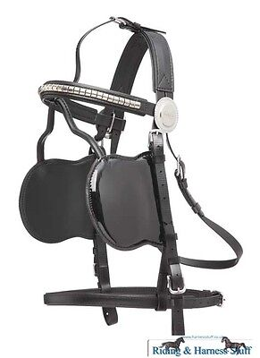 Zilco Driving Harness - Fine Patent Bridle Jubilee Range with Clincher Browband