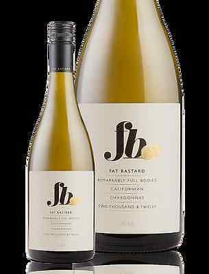 6 X Fat Bastard Chardonnay Californian ( no delivery to NT and WA)