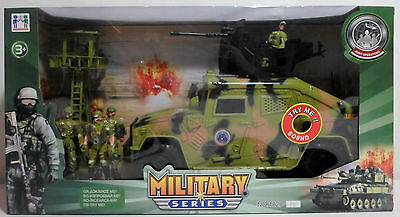 Peace Keeper Military Humvee Highly Detailed For Gi Joe Figures Mib Sealed