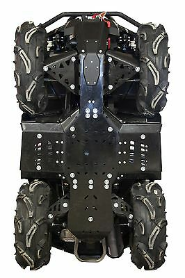 IB CanAm Outlander 650 800 850 1000 G2 HDPE plastic poly skid plate Iron Baltic
