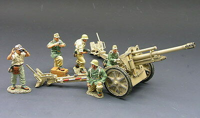 King (and) & Country AK027 - 10.5cm Field Gun - Retired