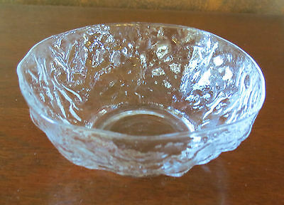 Morgantown Crinkle Crystal Clear Finger Bowl(s)