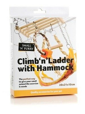 SmallnFurry Climb N Ladder Small Animal Hanging Activity Toy 2 Styles